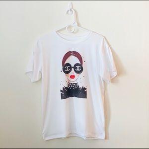 New Chic Soft Round Neck T-Shirt